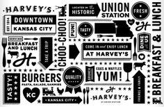Harvey's | Tad Carpenter Creative