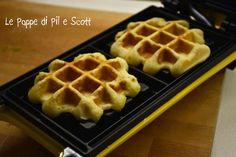 Easy Waffle Recipe, Waffle Recipes, Mini Desserts, Sweet Desserts, Crepes, Burritos, Waffles, Cake & Co, Sweets Recipes