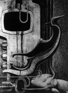 H. R. Giger - Biomechanoids