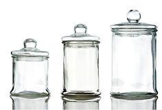 S/3 Round Glass Canisters on OneKingsLane.com