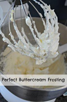 Easy Buttercream Frosting Recipe
