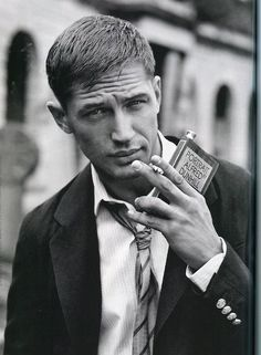 Oh hello, handsome.---Tom Hardy
