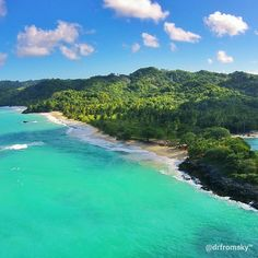 Playa Rincon, Santa Barbara de Samaná, Dominican Republic From Sky! #beach #sky…