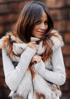 Fur Vest Styles.