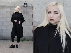 Get this look: http://lb.nu/look/7920552  More looks by Magdalena M: http://lb.nu/daj5zeta  Items in this look:  Trousers, H&M Coat   #artistic #elegant #sporty