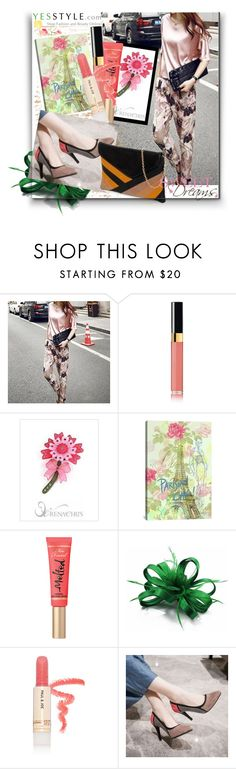 """Floral blossom S/S 2016 Yesstyle"" by danijela-3 ❤ liked on Polyvore featuring Chanel, iCanvas, Too Faced Cosmetics, Paul & Joe Beaute and YesStyle"