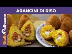 Italian Dishes, Italian Recipes, Arancini, Bruschetta, Baked Potato, Risotto, Buffet, Recipies, Food And Drink