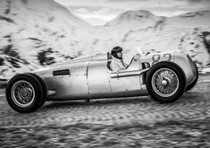 Pre 1940 Audi Supercharged F1 Renwagen