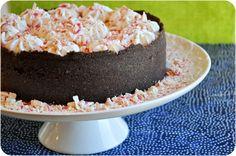 Peppermint Bark Cheesecake by Lemon Sugar
