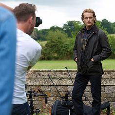 Outlander star Sam Heughan named Barbour brand ambassador - Scotland Now So Handsome is our Sam
