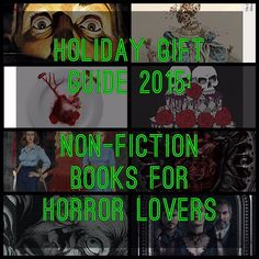 The Spooky Vegan: Holiday Gift Guide 2015: Non-Fiction Books for Horror Lovers