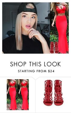 """maude's ootd ; ""I feel pretty"" ."" by margiexbixdominicana ❤ liked on Polyvore featuring KRISVANASSCHE and Sergio Rossi"