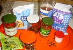 Nálev na okurky | recept Drink Bottles, Preserves, Pickles, Vitamins, Canning, Meat, Chicken, Food, Home Canning