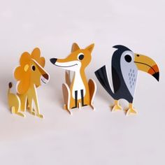 Animal Parade 2D Puzzle designed by Ingela Arrhenius
