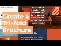 How to Create a Tri-Fold Brochure in Affinity Publisher (Free Brochure File) Free Brochure, Brochure Design, Pull Quotes, Text Frame, Clip Art, Design Blogs, Tri Fold, Learning