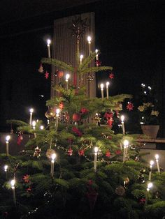 check out how different swedish christmas trees are makes american trees look excessive doncha