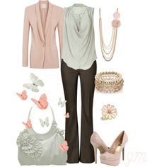 Soft - Polyvore  Sleek nice evening outfit!
