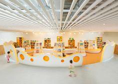 SAKO architects shapes playful educational center in beijing - designboom | architecture