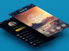 #mobile #designinspiration  View more design inspiration @ http://startsite.co