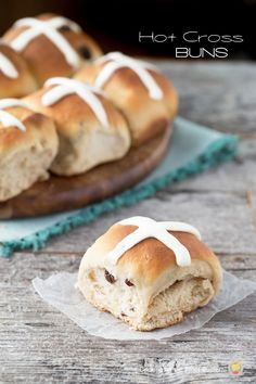 Make it a new tradition by making these Hot Cross Buns - A favorite Good Friday treat!