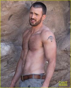Chris Evans: Shirtless 'Details' Magazine Shoot! - chris-evans Photo