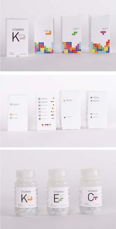 Vitamin Packaging Design - #packaging #inspiration Drug Packaging, Medical Packaging, Clever Packaging, Skincare Packaging, Cosmetic Packaging, Design Packaging, Label Design, Box Design, Package Design