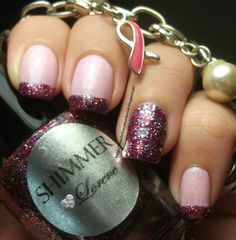 Essie Pink-A-Boo & Shimmer Lorene