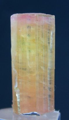 Top Quality Unique Orange Color TOURMALINE Crystal by GemzLand
