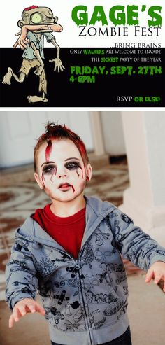 Zombie Party for Kids - Halloween | My Mommy Style