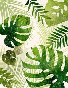 Modern Tropical Print - Megan Tamaccio