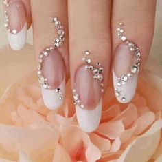#nailart #wedding #mynaildesign