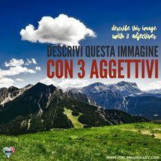 Descrivi questa immagine con 3 aggettivi Italian Memes, 3, Italy, Mountains, Nature, Travel, Viajes, Traveling, Italia