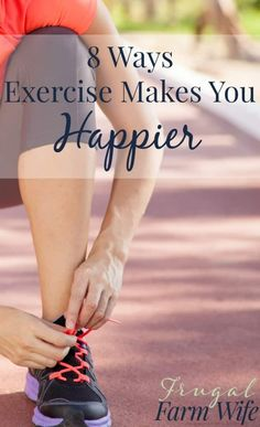 Yes, exercise does make you look better, but it can also make you feel better! Check out these 8 great ways exercise makes you happier!