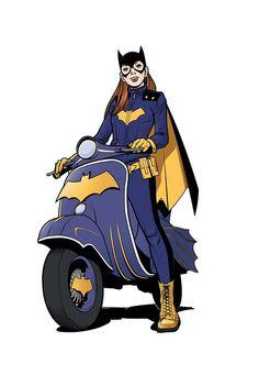 Batgirl by Adam Huntley