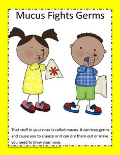 Our Germ Fighters - Mucus Free Teaching Resources, Teaching Activities, Self Promotion, Our Body, First Grade, Homeschool, Projects To Try, Web Design, Make It Yourself