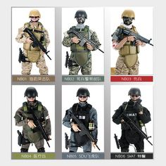 "12"" 1/6 SWAT SDU SEALs Uniform Military Army Combat Action Figure 1pcs     Cool #figures #kids     FREE Shipping Worldwide    Price: $31.50 Discount from 37.06    #Comics #figures #kids"