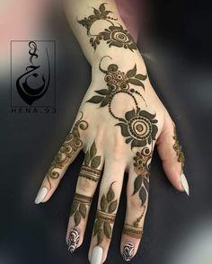 Design Tattoo Arm Awesome Ideas For 2019 Arabic Henna Designs, Modern Mehndi Designs, Mehndi Design Pictures, Beautiful Henna Designs, Beautiful Mehndi, Latest Mehndi Designs, Simple Mehndi Designs, Henna Tattoo Designs, Modern Henna