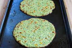 Low-Carb Zucchini-Crust Vegetarian Pizza Margherita - On the Grill or in the Oven -  found on KalynsKitchen.com