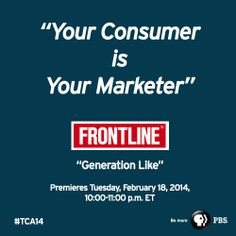 The FRONTLINE TCA 2014 panel examined the evolving, complicated relationship between teens and the companies that target them. See photos from the session.