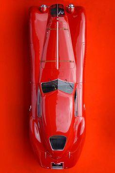 1938 Alfa Romeo 8C 2900B Le Mans Speciale, LG JJ