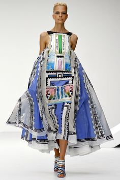 Show Review: Mary Katrantzou Spring 2013 - The Fashion Bomb Blog : Celebrity Fashion, Fashion News, What To Wear, Runway Show Reviews