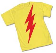 yellow Flash t-shirt with Kid Flash 52 symbol. Nike Tights, Nike Heels, Nerd Merch, Dc Comics Shirts, Nike Runners, Air Max Day, Kid Flash, Nike High Tops, Nike Sweatpants