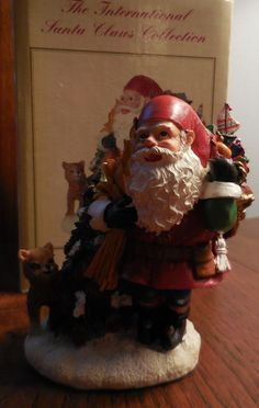 The International Santa Claus Collection SANTA CLAUS Norway Figurine