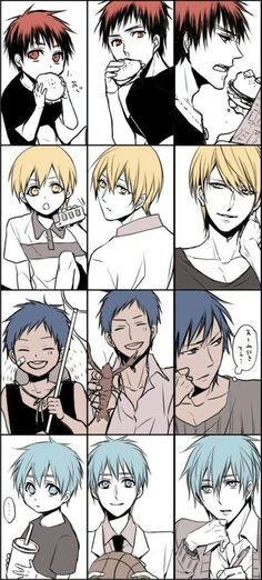 My precious babies growing up | Kagami, Kise, Aomine, Kuroko | KnB Kuroko No Basket, Fanarts Anime, Anime Characters, Manga Anime, Naruto, Anime Guys, Anime Love, Akakuro, Akashi Seijuro