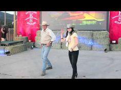 Bare Feet™ Webseries - Mickela Mallozzi Line Dancing in Keystone, CO at TBEX 2012