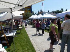 Arlington Farmers' Market Day at the market Legion Park, Arlington Washington, Farmers Market, Marketing