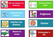 Recursos para las rutinas diarias de los alumnos de Infantil