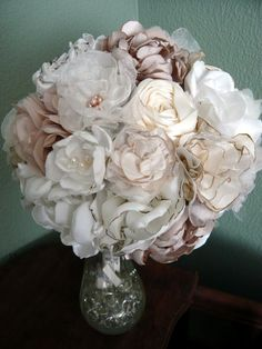 Fabric Flower Bouquet