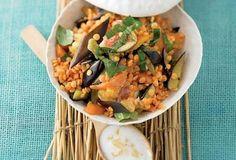 Čočkový salát Grains, Meat, Chicken, Seeds, Korn, Cubs