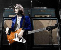 Eric with his Firebird Cream Eric Clapton, Acoustic Guitar Cake, Gibson Firebird, The Yardbirds, Old Rock, Music People, Best Rock, Music Photo, Cool Guitar